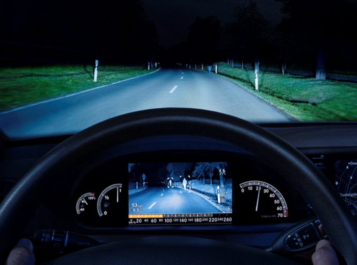 Automotive Night Vision System Eagle Eyes Uk